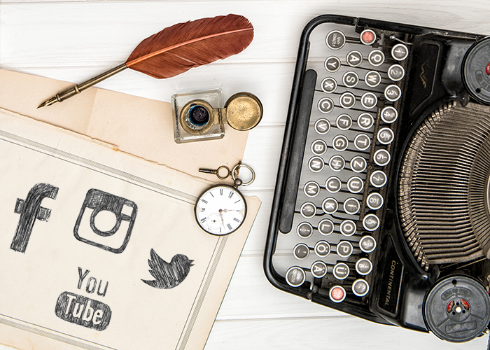 Social media authors