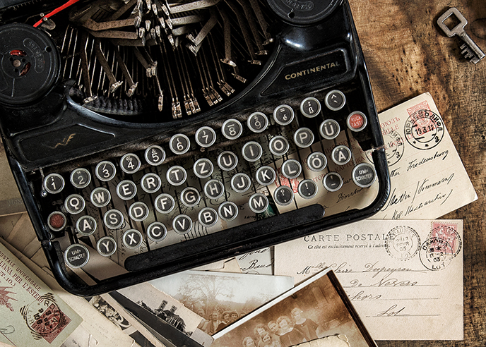 Writers author website design
